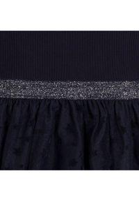 Mayoral Sukienka elegancka 7960 Granatowy Regular Fit. Kolor: niebieski. Styl: elegancki #3