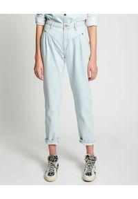 ONETEASPOON - Niebieskie spodnie Streetwalkers. Stan: podwyższony. Kolor: niebieski. Sezon: lato