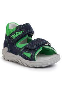 Niebieskie sandały Superfit na lato, klasyczne