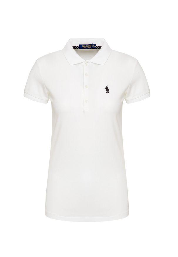 Polo Golf Ralph Lauren - Polo GOLF RALPH LAUREN. Typ kołnierza: golf, polo. Materiał: bawełna, tkanina, mesh, prążkowany. Długość: długie. Wzór: ze splotem. Styl: sportowy