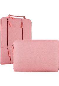 Różowa torba na laptopa NoName