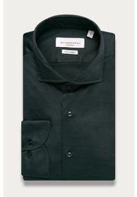 Szara koszula Baldessarini elegancka, na co dzień