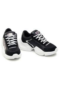 Versace Jeans Couture Sneakersy E0VWASU3 Czarny. Kolor: czarny