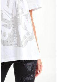 T-shirt Emporio Armani casualowy, na co dzień