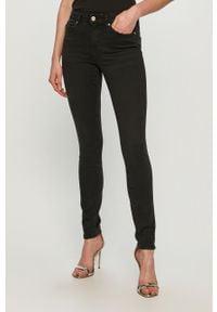 Czarne jeansy only gładkie