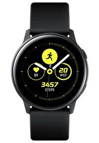 SAMSUNG - Samsung smartwatch Galaxy Watch Active, czarny (SM-R500NZKAXEZ). Rodzaj zegarka: smartwatch. Kolor: czarny. Styl: elegancki