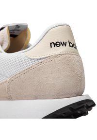 New Balance - Sneakersy NEW BALANCE - MS237CB Beżowy Biały. Kolor: biały, wielokolorowy, beżowy. Materiał: skóra, zamsz, materiał