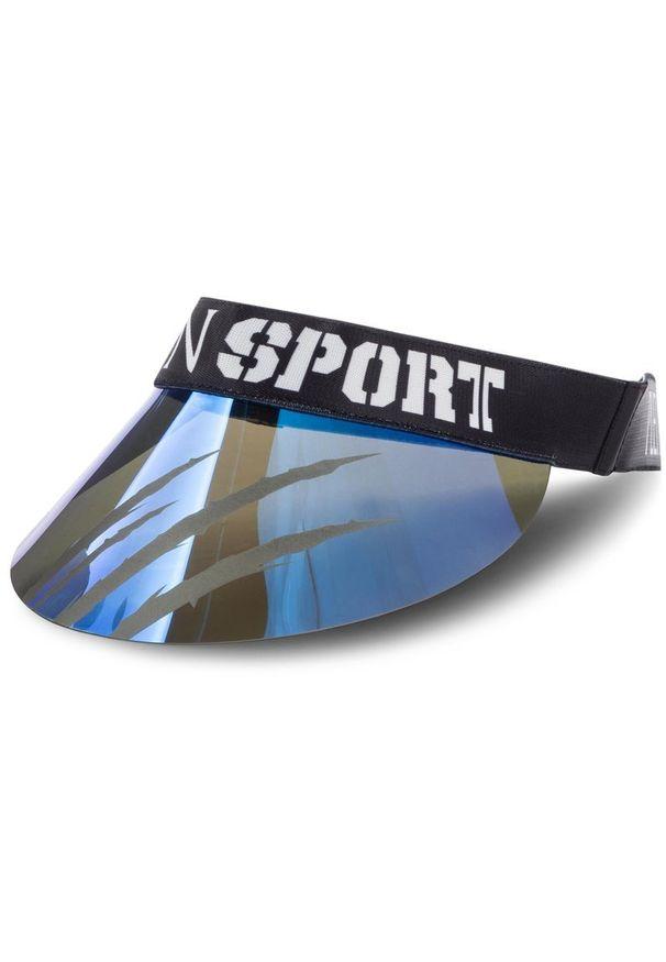 Niebieska czapka z daszkiem Plein Sport sportowa
