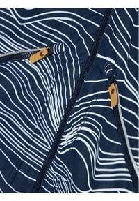 Reima Kurtka przejściowa Finbo 521627 Granatowy Regular Fit. Kolor: niebieski