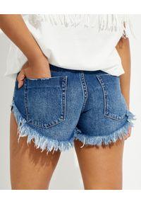ONETEASPOON - Jeansowe szorty Dukes Low Waist. Stan: obniżony. Kolor: niebieski. Materiał: jeans