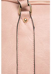 Różowa shopperka ANSWEAR duża, na ramię
