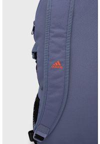 adidas Performance - Plecak. Kolor: fioletowy. Materiał: poliester