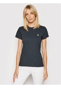 Polo Ralph Lauren T-Shirt 211734144 Czarny Regular Fit. Typ kołnierza: polo. Kolor: czarny