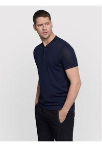 Vistula T-Shirt Gyllen XA1187 Granatowy Slim Fit. Kolor: niebieski
