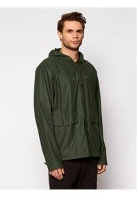 Rains Kurtka przeciwdeszczowa Unisex 1826 Zielony Regular Fit. Kolor: zielony