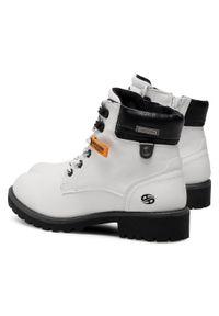 Białe buty trekkingowe Dockers #6