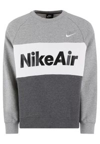 Nike - NIKE Bluza Air CJ4827 Szary Standard Fit. Kolor: szary