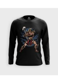 MegaKoszulki - Koszulka męska z dł. rękawem Emperor. Materiał: bawełna