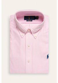 Różowa koszula Polo Ralph Lauren polo, casualowa