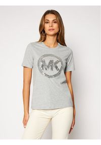 MICHAEL Michael Kors T-Shirt MF05MRA97J Szary Regular Fit. Kolor: szary