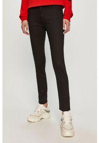 Czarne jeansy Love Moschino gładkie