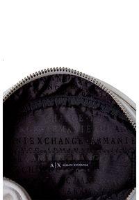 Armani Exchange - TOREBKA ARMANI EXCHANGE. Wzór: gładki, aplikacja. Dodatki: z aplikacjami. Styl: elegancki