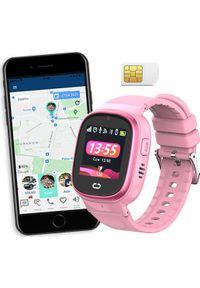 Smartwatch CALMEAN Nemo3 Różowy. Rodzaj zegarka: smartwatch. Kolor: różowy