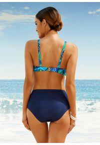 Niebieski strój kąpielowy bonprix