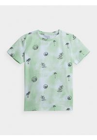 4f - T-shirt chłopięcy (122-164). Materiał: bawełna, dzianina