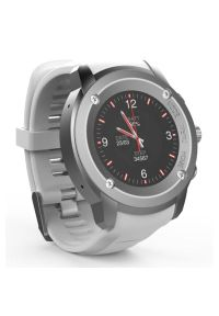Biały zegarek Maxcom casualowy, smartwatch
