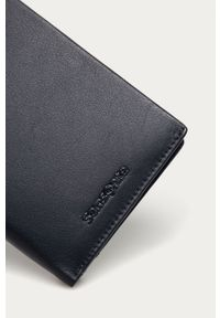 Niebieski portfel Samsonite