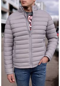 Szary płaszcz IVET na zimę