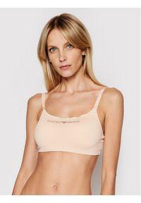 Emporio Armani Underwear Biustonosz top 164406 1P284 00071 Beżowy. Kolor: beżowy