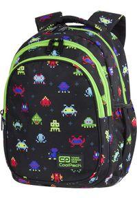 Patio Plecak szkolny Jerry Pixels czarny (C29233). Kolor: czarny