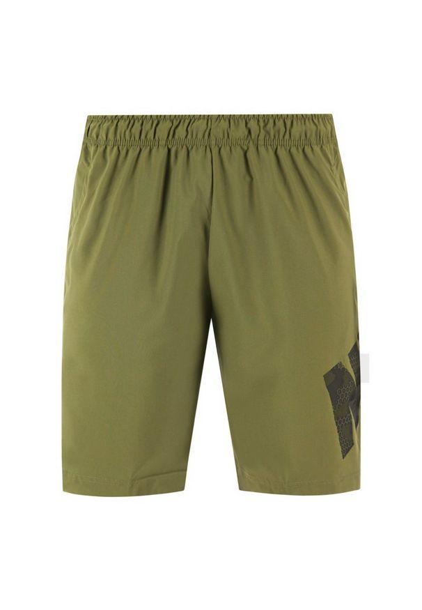 Zielone spodenki sportowe Nike