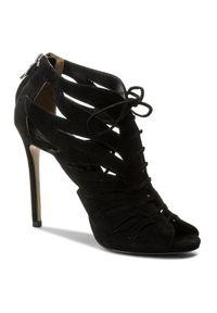 Czarne sandały Sca'viola eleganckie