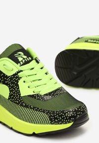 Renee - Zielone Sneakersy Leucolinai. Kolor: zielony. Materiał: materiał