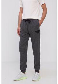 Emporio Armani Underwear - Spodnie. Kolor: szary. Materiał: dzianina. Wzór: aplikacja