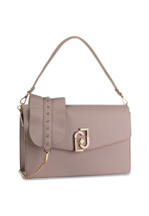 Różowa torebka klasyczna Liu Jo klasyczna