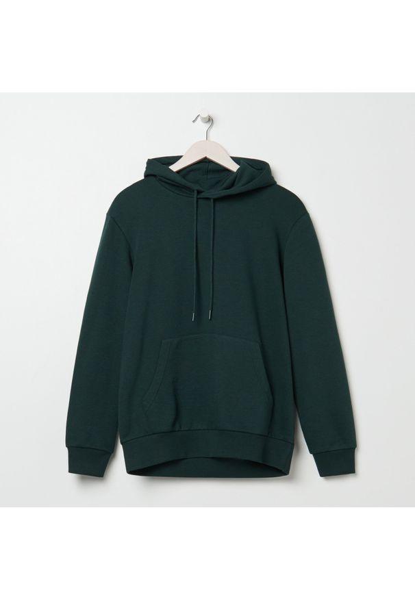 Sinsay - Bluza męska - Zielony. Kolor: zielony