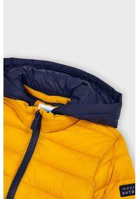 Pomarańczowa kurtka Mayoral z kapturem, casualowa, na co dzień