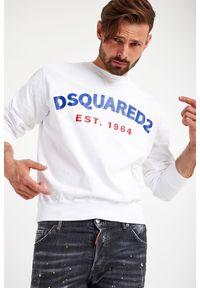 Bluza DSQUARED2 długa, z nadrukiem