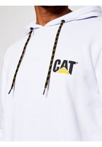 CATerpillar Bluza 2910387 Biały Regular Fit. Kolor: biały