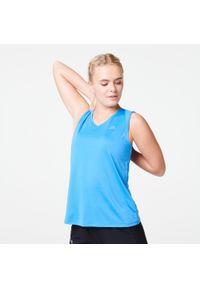 Niebieska koszulka do biegania KALENJI bez rękawów