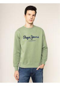 Pepe Jeans Bluza Albert PM581721 Zielony Regular Fit. Kolor: zielony