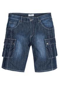 Czarne jeansy bonprix z aplikacjami