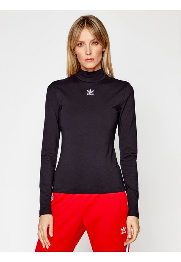 Adidas - adidas Golf adicolor Essentials Tee GN4791 Czarny Slim Fit. Typ kołnierza: golf. Kolor: czarny
