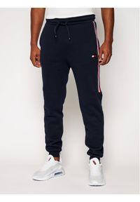 Niebieskie spodnie dresowe Tommy Sport