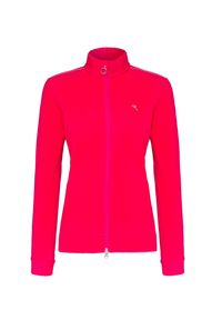 Czerwona bluza Chervo ze stójką, na zimę