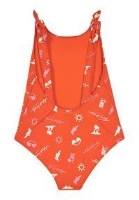 Pomarańczowy strój kąpielowy TOMMY HILFIGER